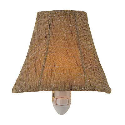 Mocha Linen Night Light