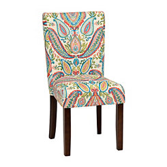 Watercolor Paisley Parsons Chair