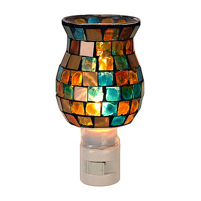 Blue Mosaic Tile Night Light