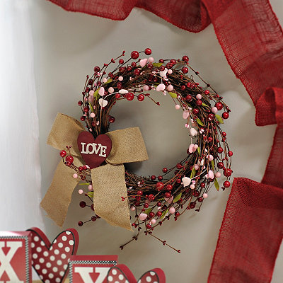 Valentine's Love Wreath