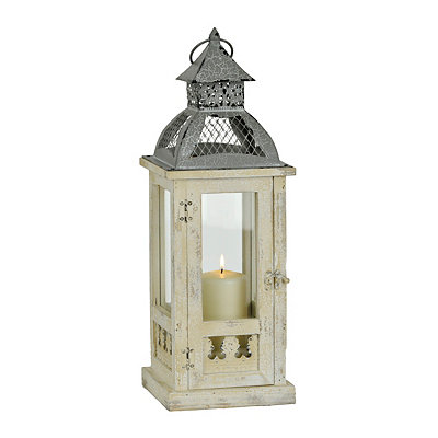 Antique Ivory Dome Lantern