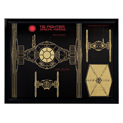 Star Wars TIE Fighter Shadowbox