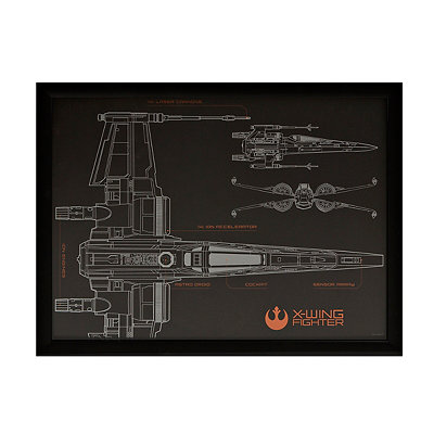 Star Wars X-Wing Shadowbox