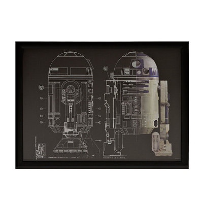 Star Wars R2-D2 Shadowbox