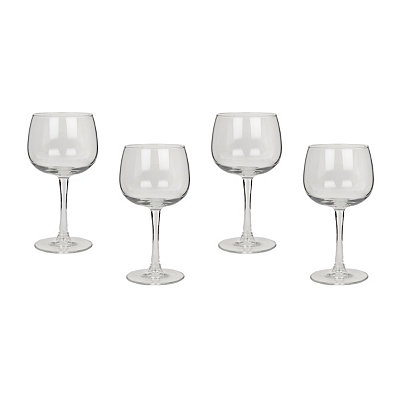 Atlas Balloon Wine Glasses, Set of 4