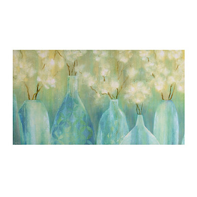 Topaz Bottles Canvas Art Print