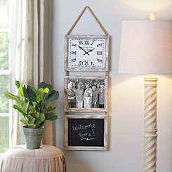 Rustic Madelyn Clock
