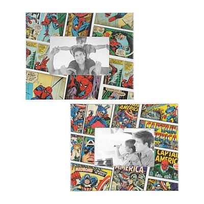 Vintage Comic Book Picture Frames, 4x6