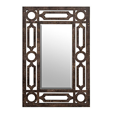 Maxwell Rustic Brown Mirror