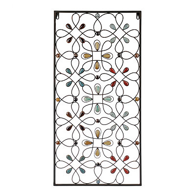 Olivia Stone Panel Metal Plaque