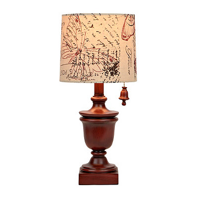 Nantucket Red Table Lamp