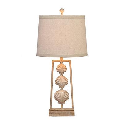 Sandstone Seashell Table Lamp