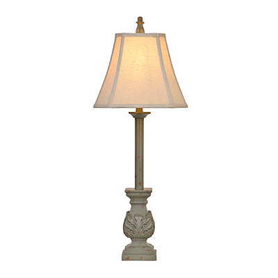 Blue Stonington Buffet Lamp