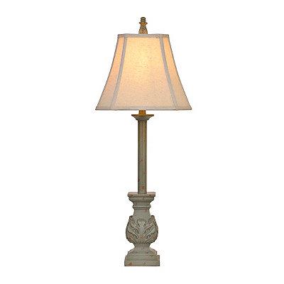 Blue Stonington Buffet Lamp