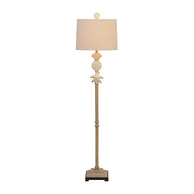Coastal Sandstone Floor Lamp