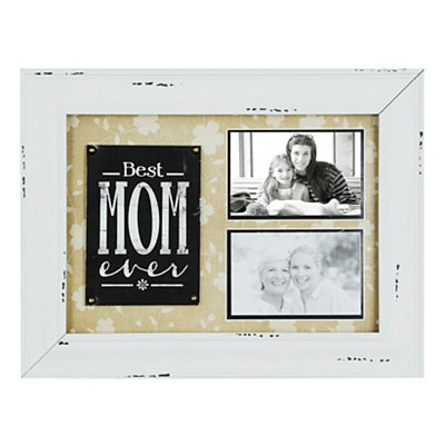 Best Mom Ever 2-Opening Collage Frame