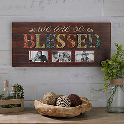 We Are So Blessed 3-Opening Collage Frame