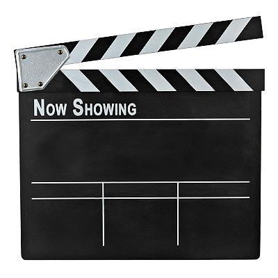 Chalkboard Movie Clapboard Plaque