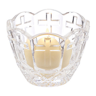 Crystal Cross Devotion Bowl