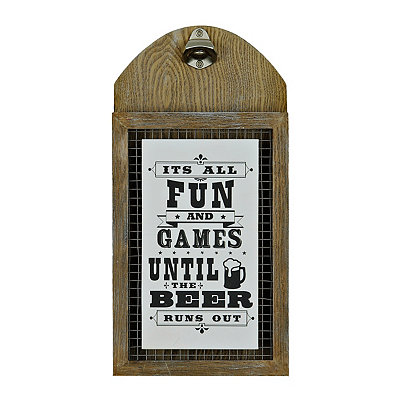 It's All Fun and Games Beer Bottle Opener