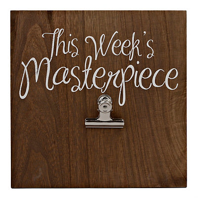 This Week's Masterpiece Clip Art Holder