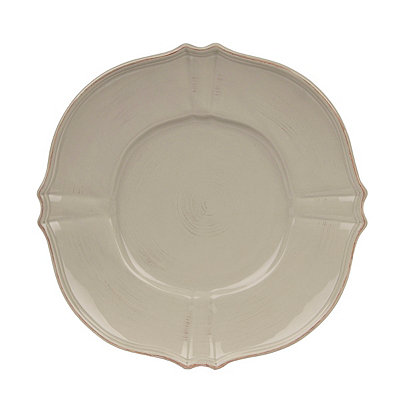 Taupe La Dolce Dinner Plate