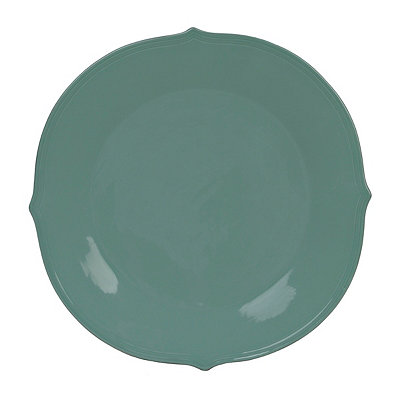 Turquoise Versailles Plate