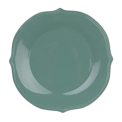 Turquoise Versailles Salad Plate