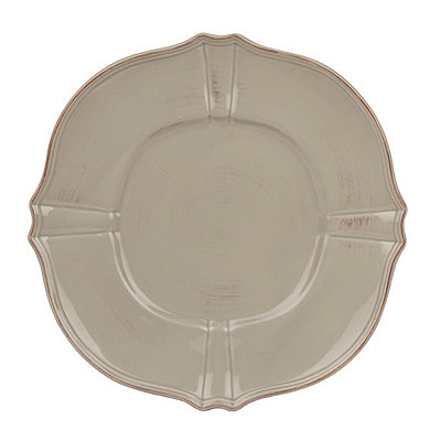 Taupe La Dolce Salad Plate