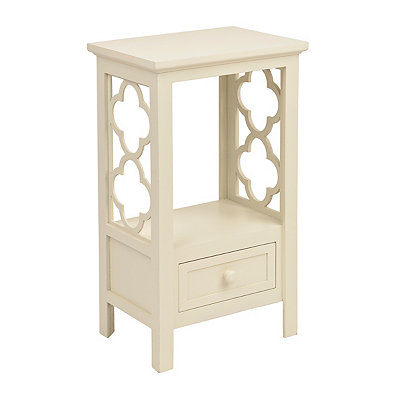 White Clover Accent Table