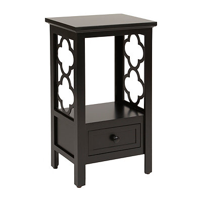 Black Clover Accent Table