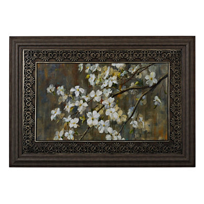 Dogwood in the Spring Framed Art Print