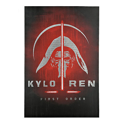 Kylo Ren First Order Canvas Art Print