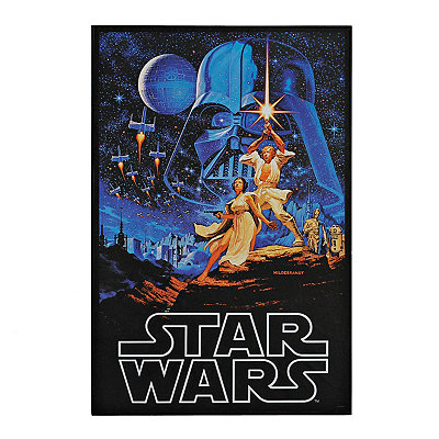 A New Hope Poster Framed Art Print