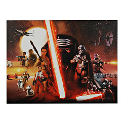 The Force Awakens Poster Framed Art Print