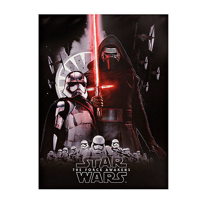 Captain Phasma and Kylo Ren Canvas Art Print
