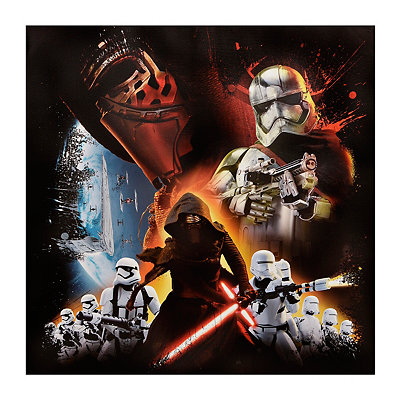 The Dark Side Canvas Art Print