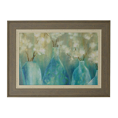 Topaz Floral Arrangement Framed Art Print