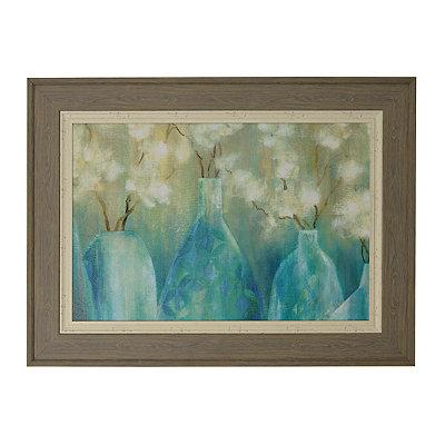 Topaz Floral Arrangement Framed Art Print