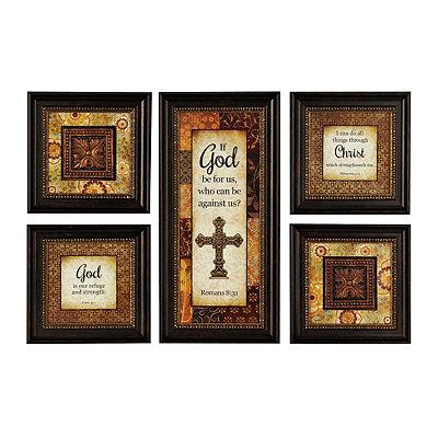 Faithful Servant Framed Art Prints, Set of 5