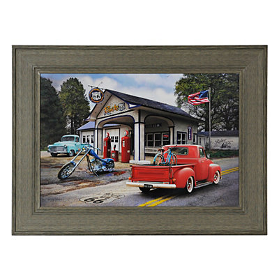 Route 66 Road Trip Framed Art Print