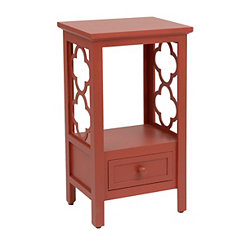 Red Clover Accent Table