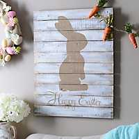 Gold Happy Easter Wall Plaque