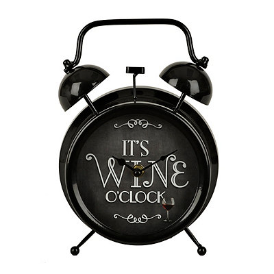 It's Wine O'Clock Tabletop Clock