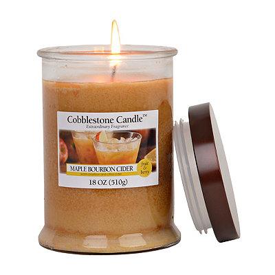 Maple Bourbon Cider Jar Candle