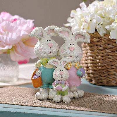 Bunny Family Statue