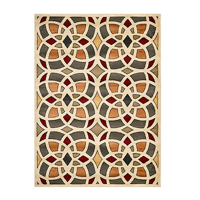 Harper Multicolor Medallion Area Rug, 5x7