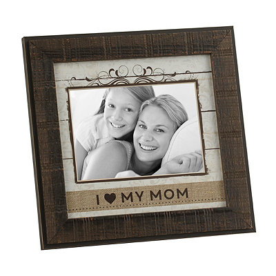 I Heart My Mom Picture Frame, 5x7