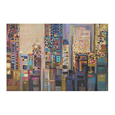 Night Scene Canvas Art Print
