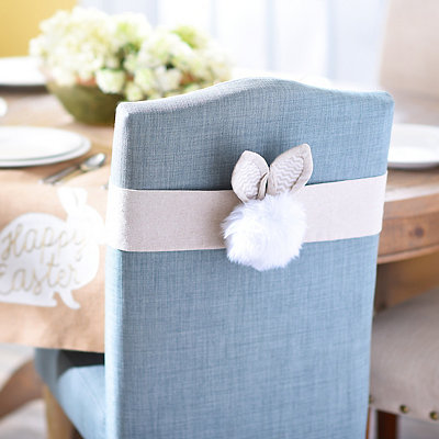 Bunny Tail Chair Cover